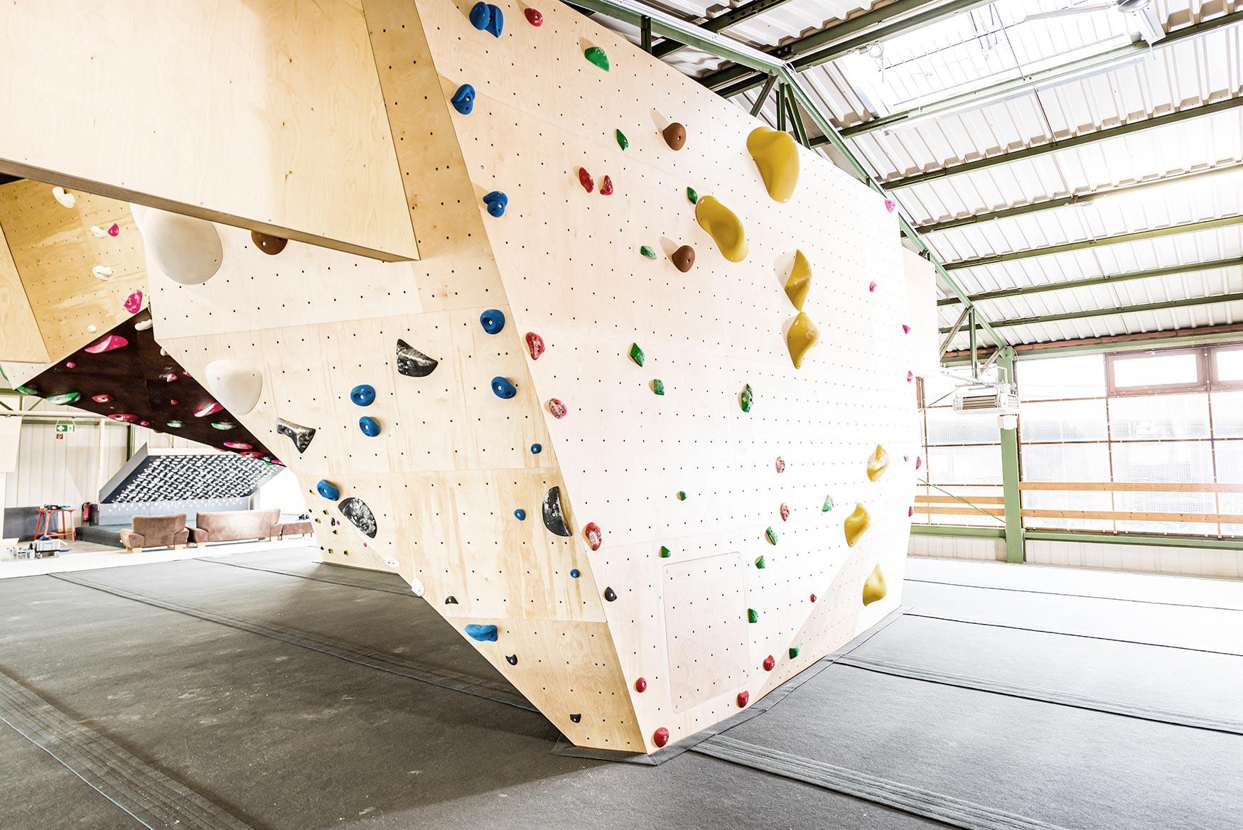 Boulderhalle Steil Bouldern in Karlsruhe