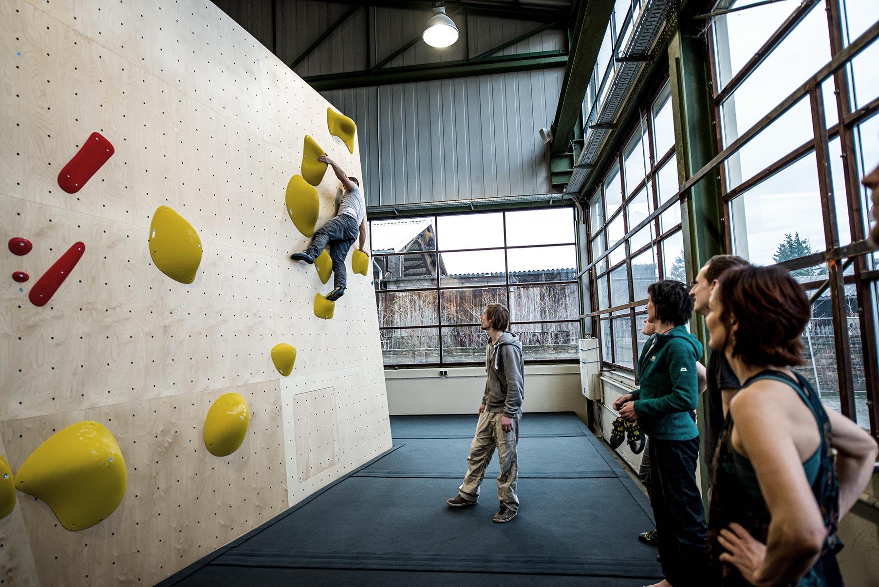 Boulderhalle Steil Karlsruhe